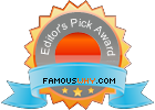 Famous Why Editors Pick Award
