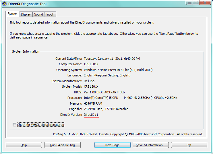 directx 9 installation folder