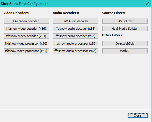 DirectShow LAV Filters Video Mill Knowledge Base